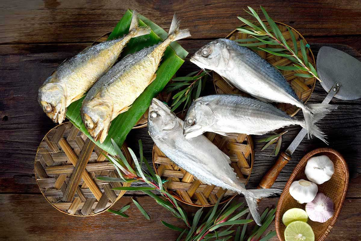 Steamed Mackerel Fish\n(Rastrelliger Brachysoma)